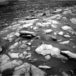 Nasa's Mars rover Curiosity acquired this image using its Left Navigation Camera on Sol 3032, at drive 1230, site number 86
