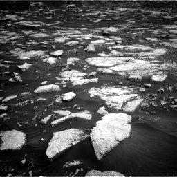 Nasa's Mars rover Curiosity acquired this image using its Left Navigation Camera on Sol 3032, at drive 1302, site number 86