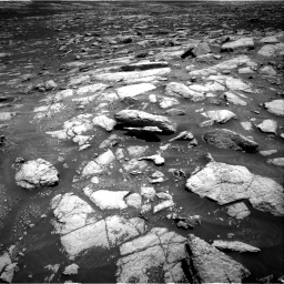 Nasa's Mars rover Curiosity acquired this image using its Right Navigation Camera on Sol 3032, at drive 1236, site number 86