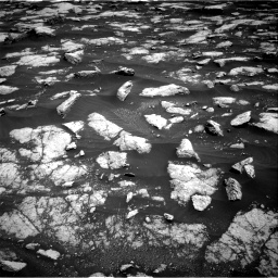 Nasa's Mars rover Curiosity acquired this image using its Right Navigation Camera on Sol 3032, at drive 1344, site number 86
