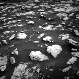 Nasa's Mars rover Curiosity acquired this image using its Right Navigation Camera on Sol 3032, at drive 1356, site number 86