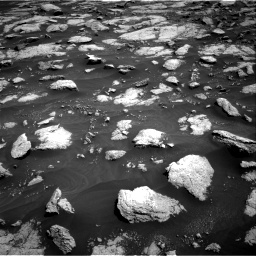 Nasa's Mars rover Curiosity acquired this image using its Right Navigation Camera on Sol 3032, at drive 1368, site number 86