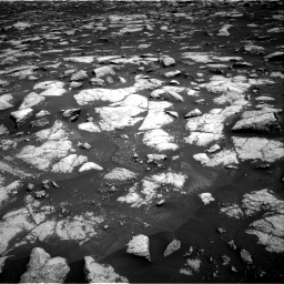 Nasa's Mars rover Curiosity acquired this image using its Right Navigation Camera on Sol 3032, at drive 1434, site number 86