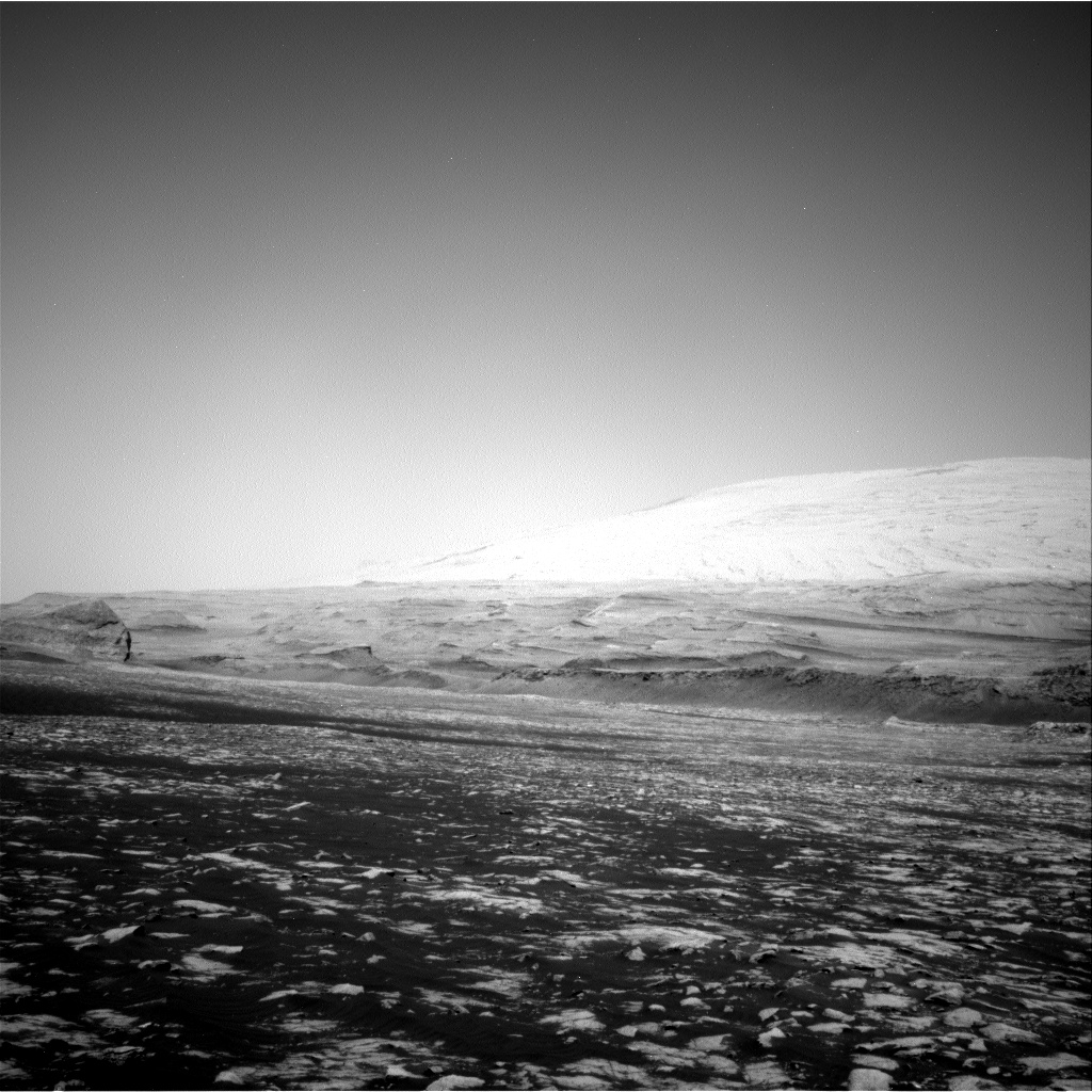 Nasa's Mars rover Curiosity acquired this image using its Right Navigation Camera on Sol 3032, at drive 1456, site number 86