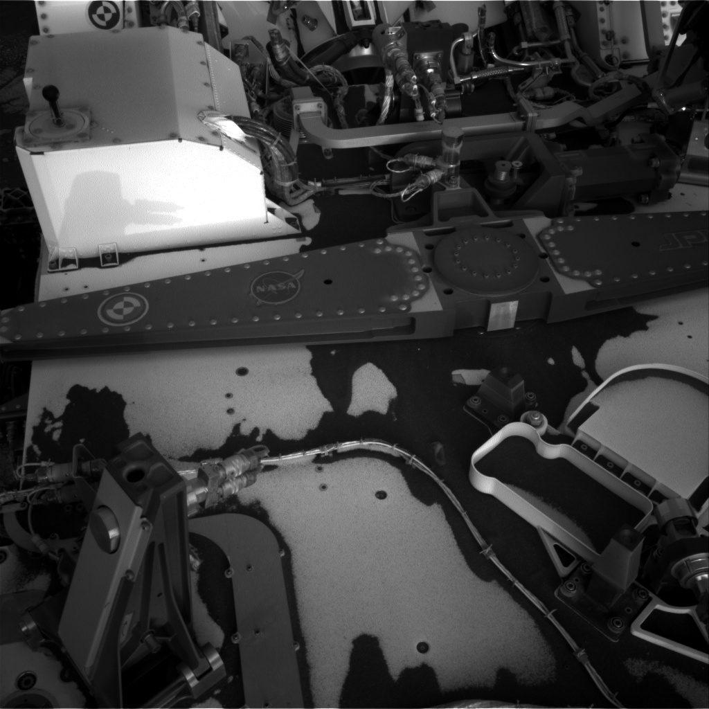 Nasa's Mars rover Curiosity acquired this image using its Right Navigation Camera on Sol 3033, at drive 1456, site number 86