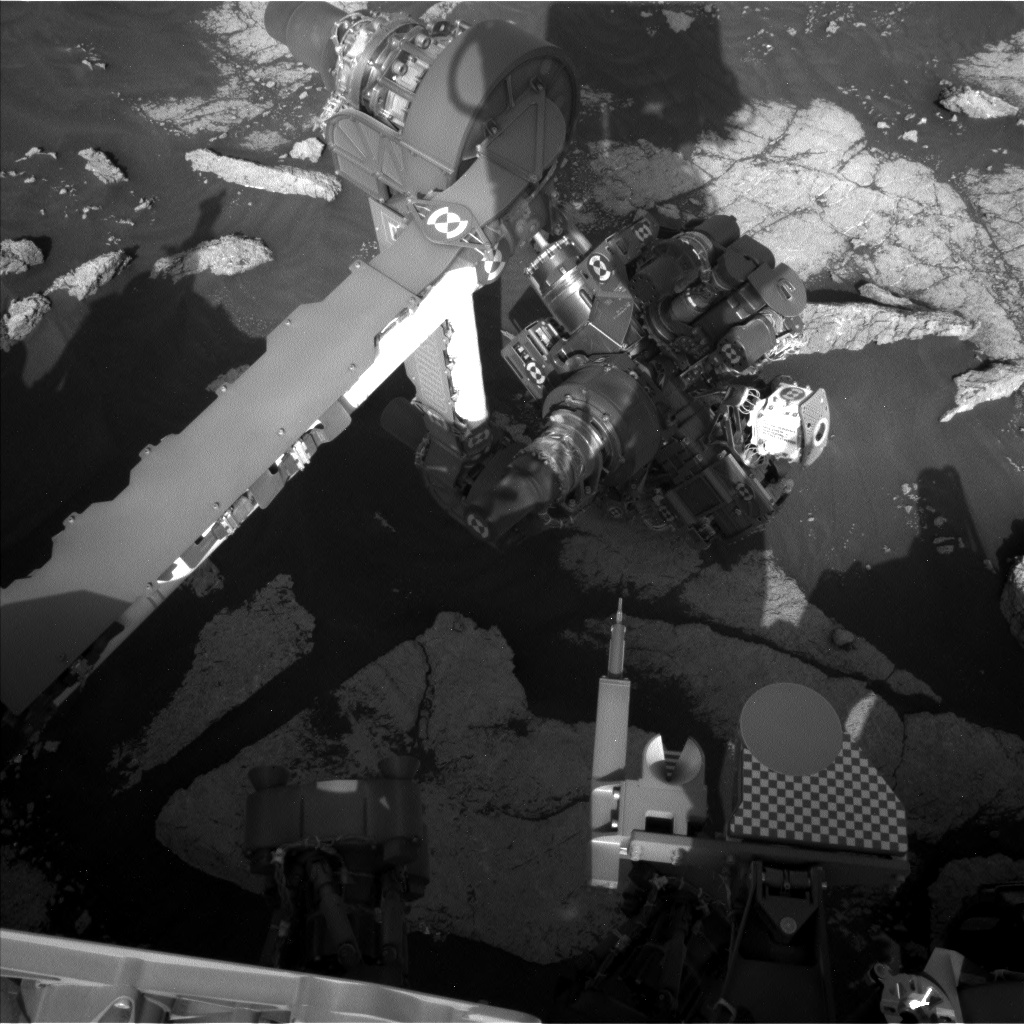 Nasa's Mars rover Curiosity acquired this image using its Left Navigation Camera on Sol 3034, at drive 1456, site number 86