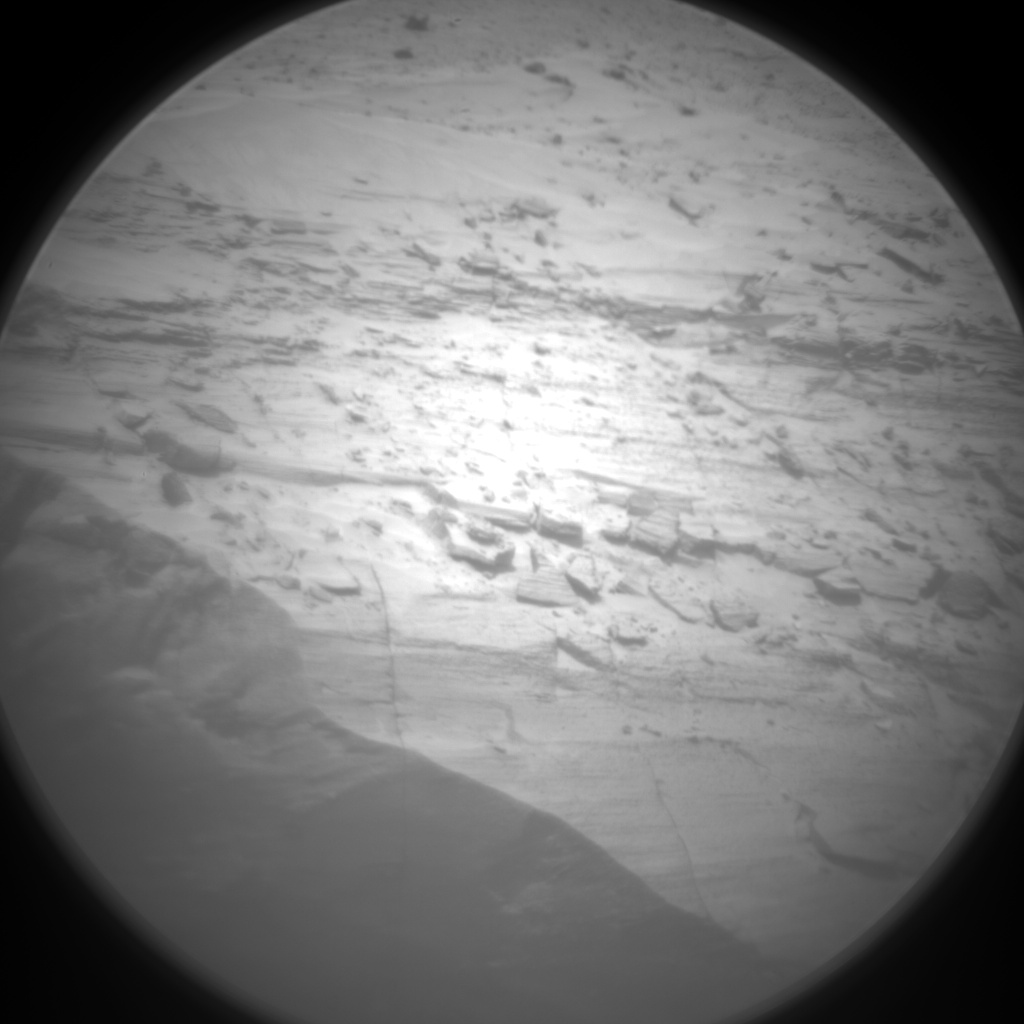 Nasa's Mars rover Curiosity acquired this image using its Chemistry & Camera (ChemCam) on Sol 3036, at drive 1456, site number 86
