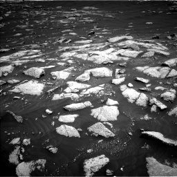 Nasa's Mars rover Curiosity acquired this image using its Left Navigation Camera on Sol 3036, at drive 1528, site number 86