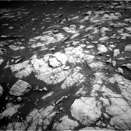 Nasa's Mars rover Curiosity acquired this image using its Left Navigation Camera on Sol 3036, at drive 1600, site number 86