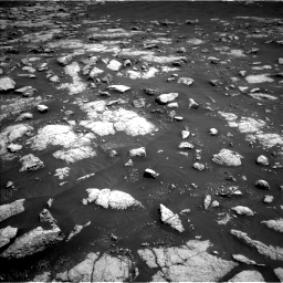 Nasa's Mars rover Curiosity acquired this image using its Left Navigation Camera on Sol 3036, at drive 1666, site number 86