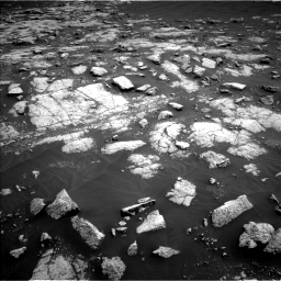 Nasa's Mars rover Curiosity acquired this image using its Left Navigation Camera on Sol 3036, at drive 1678, site number 86