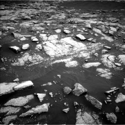 Nasa's Mars rover Curiosity acquired this image using its Left Navigation Camera on Sol 3036, at drive 1684, site number 86