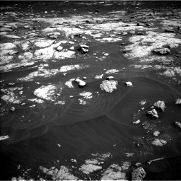 Nasa's Mars rover Curiosity acquired this image using its Left Navigation Camera on Sol 3036, at drive 1762, site number 86