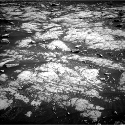 Nasa's Mars rover Curiosity acquired this image using its Left Navigation Camera on Sol 3036, at drive 1798, site number 86