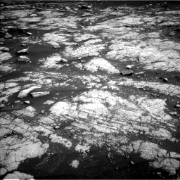 Nasa's Mars rover Curiosity acquired this image using its Left Navigation Camera on Sol 3036, at drive 1804, site number 86