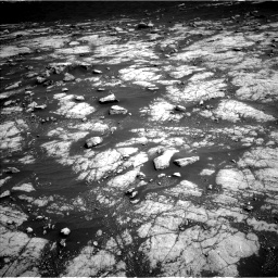 Nasa's Mars rover Curiosity acquired this image using its Left Navigation Camera on Sol 3036, at drive 1816, site number 86