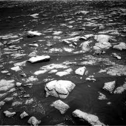 Nasa's Mars rover Curiosity acquired this image using its Right Navigation Camera on Sol 3036, at drive 1462, site number 86