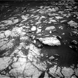 Nasa's Mars rover Curiosity acquired this image using its Right Navigation Camera on Sol 3036, at drive 1594, site number 86