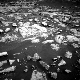 Nasa's Mars rover Curiosity acquired this image using its Right Navigation Camera on Sol 3036, at drive 1684, site number 86