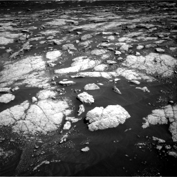 Nasa's Mars rover Curiosity acquired this image using its Right Navigation Camera on Sol 3036, at drive 1732, site number 86