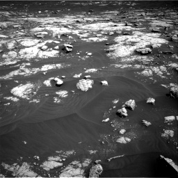 Nasa's Mars rover Curiosity acquired this image using its Right Navigation Camera on Sol 3036, at drive 1762, site number 86