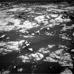 Nasa's Mars rover Curiosity acquired this image using its Right Navigation Camera on Sol 3036, at drive 1780, site number 86