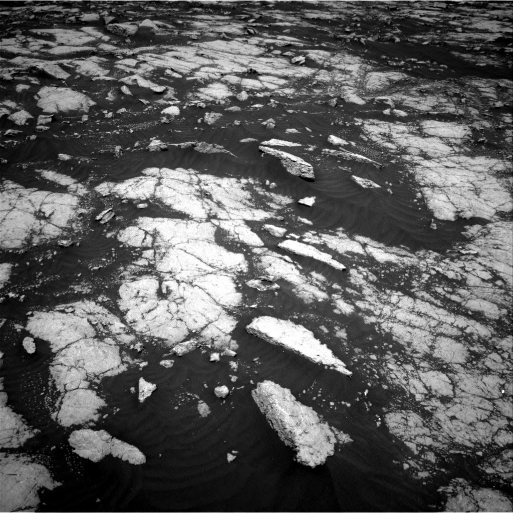 Nasa's Mars rover Curiosity acquired this image using its Right Navigation Camera on Sol 3036, at drive 1804, site number 86