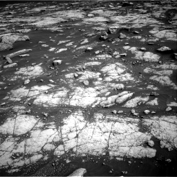 Nasa's Mars rover Curiosity acquired this image using its Right Navigation Camera on Sol 3036, at drive 1834, site number 86