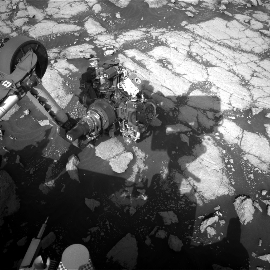 Nasa's Mars rover Curiosity acquired this image using its Right Navigation Camera on Sol 3037, at drive 1840, site number 86