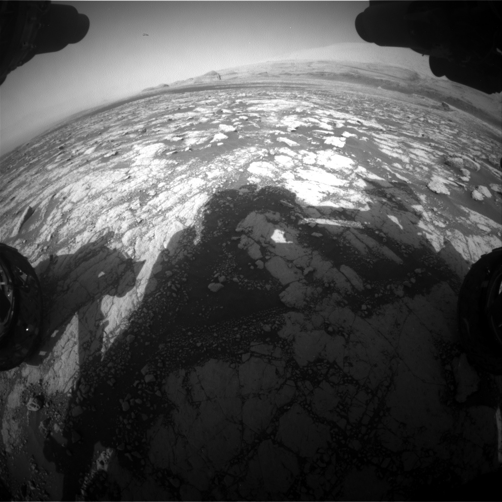 Nasa's Mars rover Curiosity acquired this image using its Front Hazard Avoidance Camera (Front Hazcam) on Sol 3038, at drive 2146, site number 86