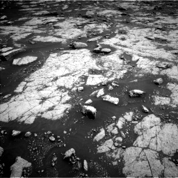 Nasa's Mars rover Curiosity acquired this image using its Left Navigation Camera on Sol 3038, at drive 1936, site number 86