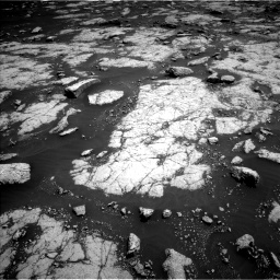 Nasa's Mars rover Curiosity acquired this image using its Left Navigation Camera on Sol 3038, at drive 1942, site number 86