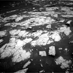 Nasa's Mars rover Curiosity acquired this image using its Left Navigation Camera on Sol 3038, at drive 1960, site number 86