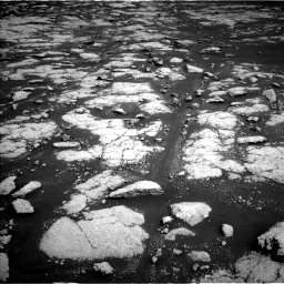 Nasa's Mars rover Curiosity acquired this image using its Left Navigation Camera on Sol 3038, at drive 2086, site number 86