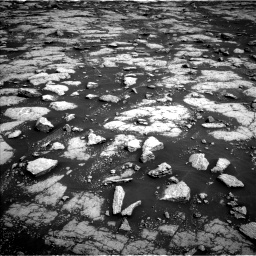 Nasa's Mars rover Curiosity acquired this image using its Left Navigation Camera on Sol 3038, at drive 2098, site number 86