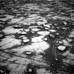 Nasa's Mars rover Curiosity acquired this image using its Left Navigation Camera on Sol 3038, at drive 2110, site number 86