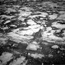 Nasa's Mars rover Curiosity acquired this image using its Left Navigation Camera on Sol 3038, at drive 2128, site number 86