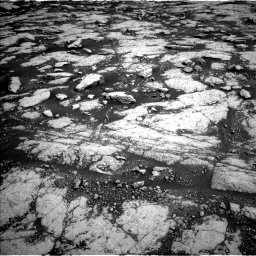 Nasa's Mars rover Curiosity acquired this image using its Left Navigation Camera on Sol 3038, at drive 2134, site number 86