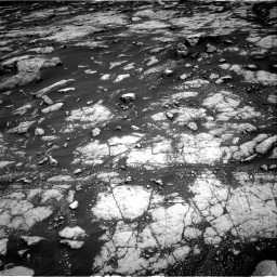 Nasa's Mars rover Curiosity acquired this image using its Right Navigation Camera on Sol 3038, at drive 1846, site number 86
