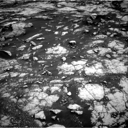 Nasa's Mars rover Curiosity acquired this image using its Right Navigation Camera on Sol 3038, at drive 1852, site number 86