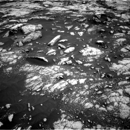 Nasa's Mars rover Curiosity acquired this image using its Right Navigation Camera on Sol 3038, at drive 1870, site number 86