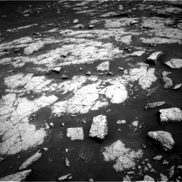 Nasa's Mars rover Curiosity acquired this image using its Right Navigation Camera on Sol 3038, at drive 1960, site number 86