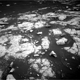 Nasa's Mars rover Curiosity acquired this image using its Right Navigation Camera on Sol 3038, at drive 1978, site number 86