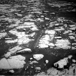 Nasa's Mars rover Curiosity acquired this image using its Right Navigation Camera on Sol 3038, at drive 2086, site number 86