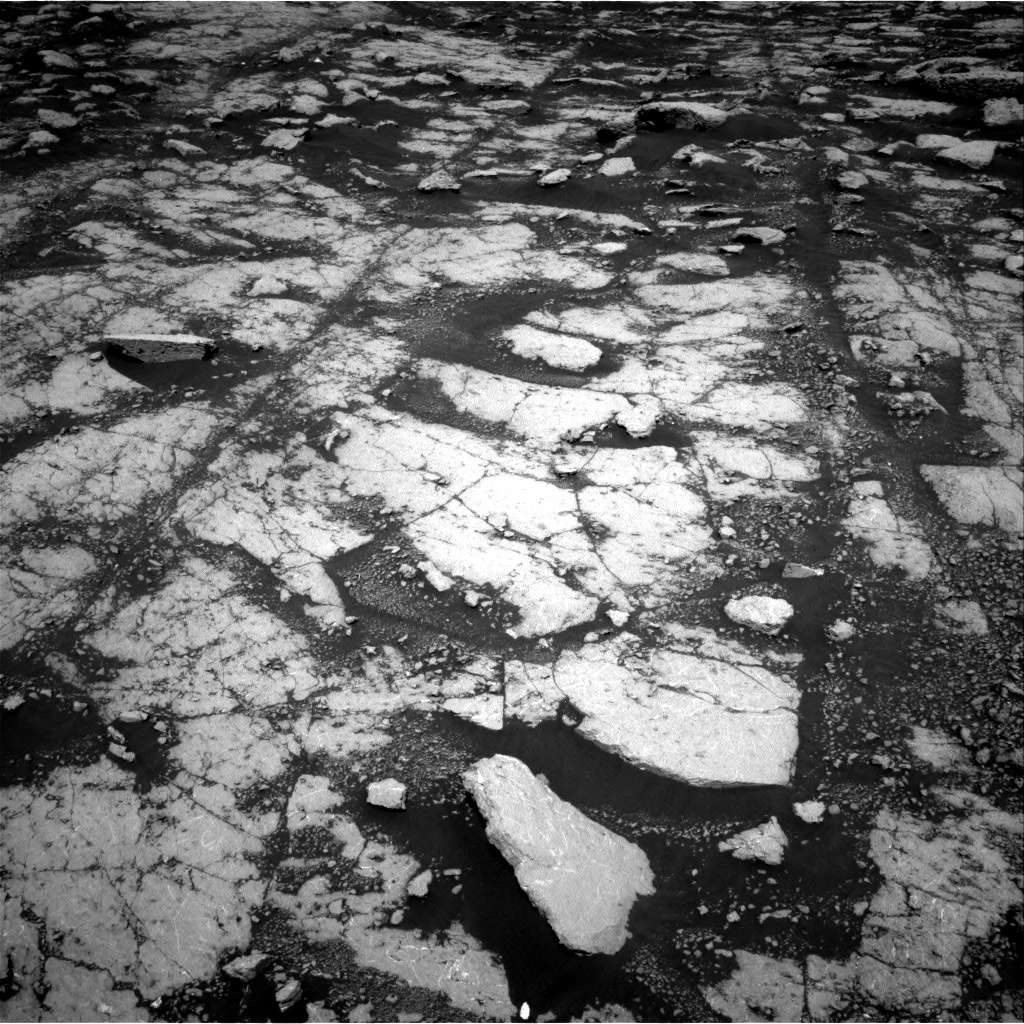 Nasa's Mars rover Curiosity acquired this image using its Right Navigation Camera on Sol 3038, at drive 2110, site number 86