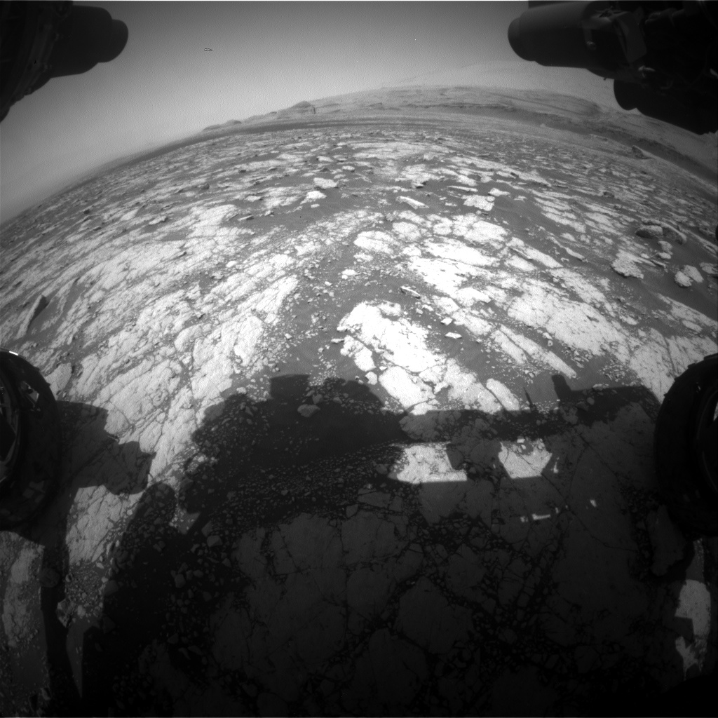 Nasa's Mars rover Curiosity acquired this image using its Front Hazard Avoidance Camera (Front Hazcam) on Sol 3039, at drive 2146, site number 86