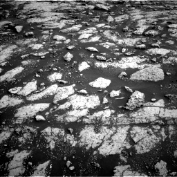 Nasa's Mars rover Curiosity acquired this image using its Left Navigation Camera on Sol 3040, at drive 2206, site number 86