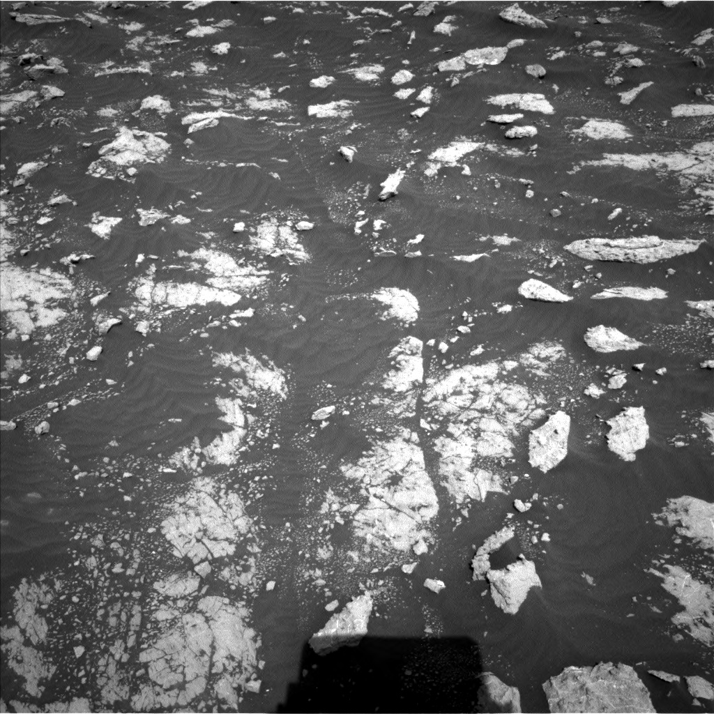 Nasa's Mars rover Curiosity acquired this image using its Left Navigation Camera on Sol 3040, at drive 2266, site number 86