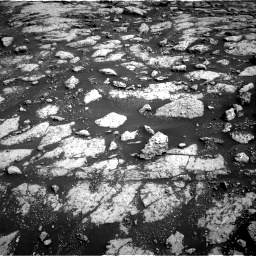 Nasa's Mars rover Curiosity acquired this image using its Right Navigation Camera on Sol 3040, at drive 2206, site number 86