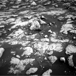 Nasa's Mars rover Curiosity acquired this image using its Right Navigation Camera on Sol 3040, at drive 2254, site number 86
